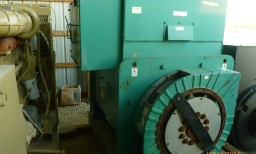 2000 kW Newage, New surplus,  -Gen End Only-