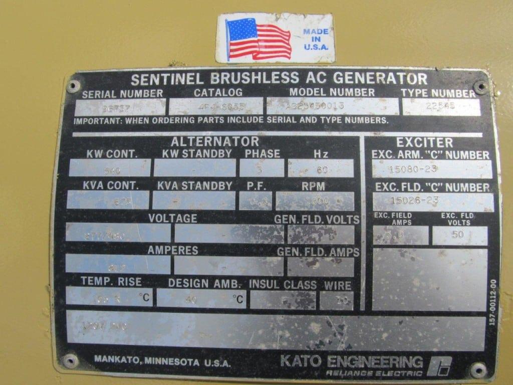 Genset 12V92TA